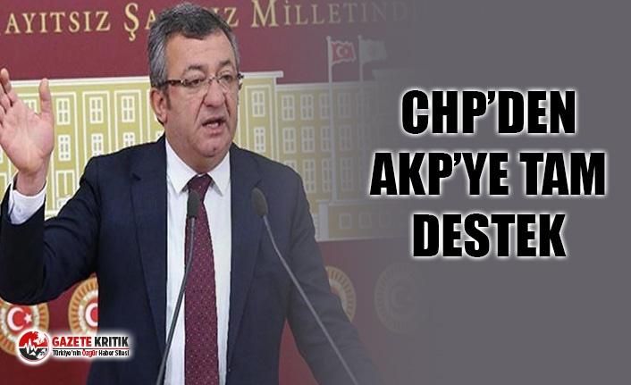 CHP'DEN ERDOĞAN'A TAM DESTEK
