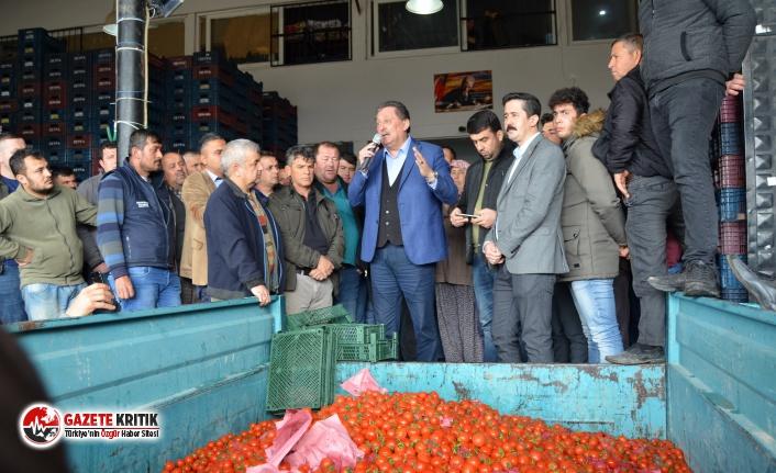 CHP'Lİ ÖZER: ''RUSYA'YA GİDEN DOMATESLER ANTALYA'YA DÖNDÜ''