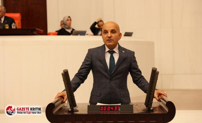 CHP'Lİ POLAT'TAN BÜYÜK TEPKİ '' SARAYLAR SALTANATLAR ÇÖKECEK''