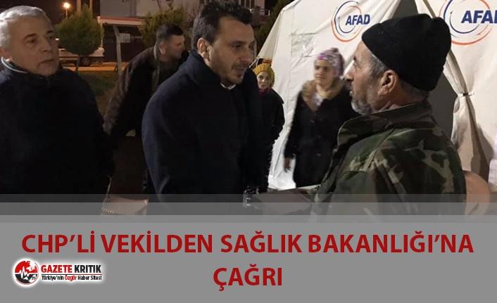 CHP'li Başevirgen'den, Deprem Korkusu Yaşayan...
