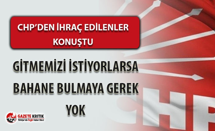 CNN Türk'e çıktıkları için CHP'den...