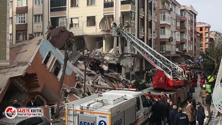 Çöken bina ile ilgili belediye başkanından şoke...