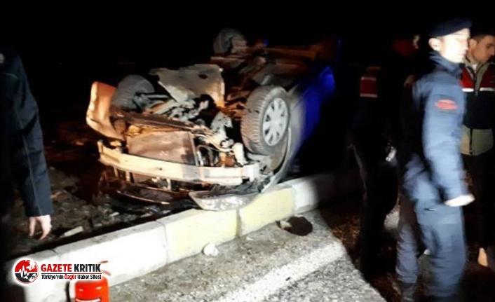 Denizli'de yolcu otobüsü ile otomobil çarpıştı: Ölü ve yaralılar var
