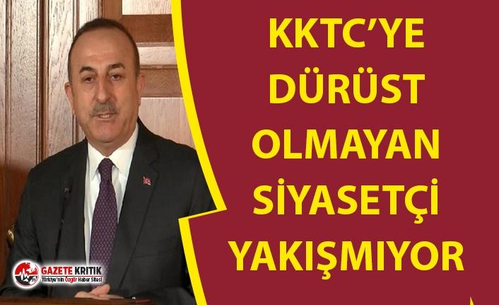DIŞ İŞLERİ BAKANI ÇAVUŞOĞLU'DAN AKINCI...