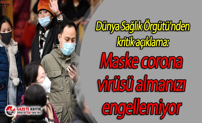 Dünya Sağlık Örgütü'nden kritik açıklama:...