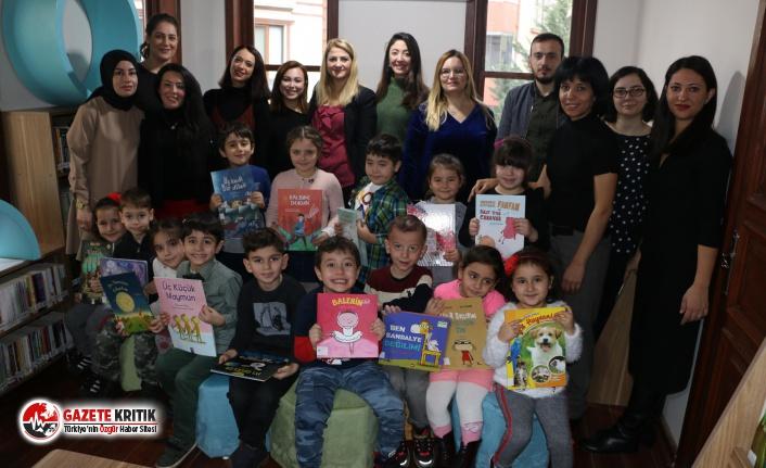 """""""Eğlenceli Çocuk Kütüphanesi"""", Kapılarını İlk Kez, Kreş Öğrencilerine Açtı"""