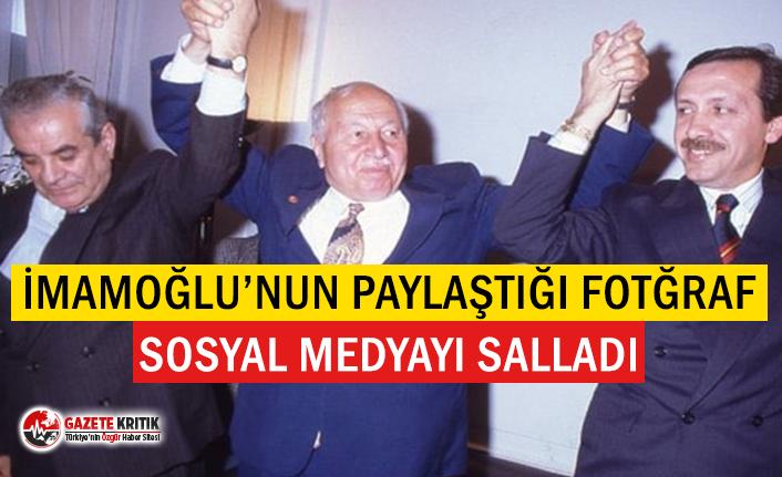 Ekrem İmamoğlu'ndan Erdoğan'lı paylaşım
