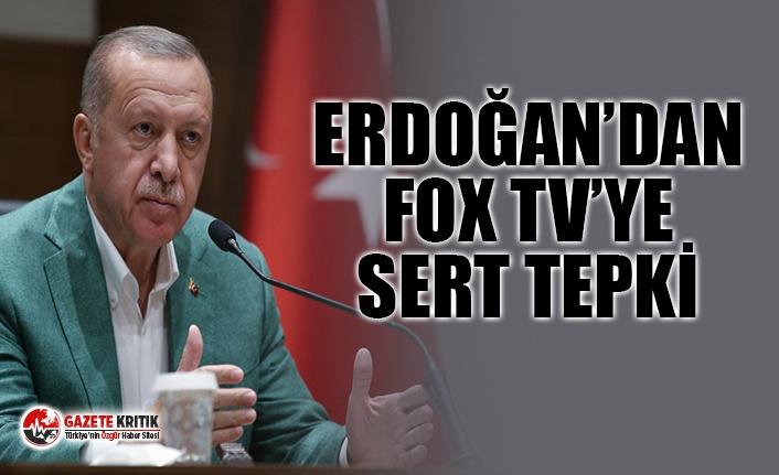 ERDOĞAN FOX TV MUHABİRİNİN SORUSUNA TEPKİ GÖSTERDİ