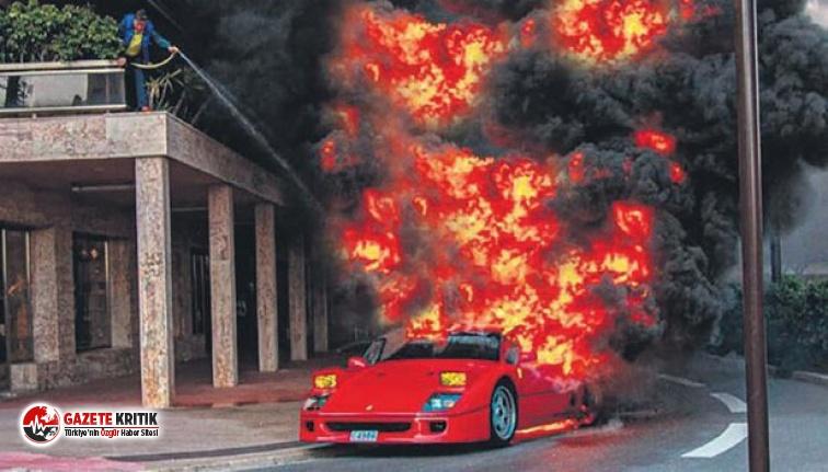 Ferrari'ye bahçe hortumu! Değeri 8 milyon TL