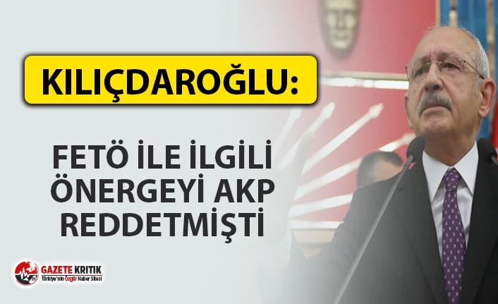 'GÜLEN MİLİTAN YETİŞTİRİYOR ARAŞTIRILSIN'' ÖNERGESİNİ AKP REDDETMİŞ
