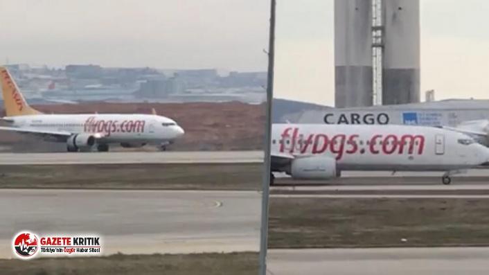 Havada panik anları! Kaptan pilot bilincini kaybetti