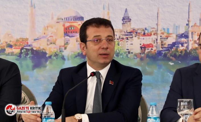 İBB Başkanı İmamoğlu'ndan Marmaray mesajı