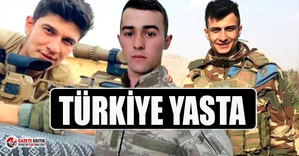 İdlib'de şehit olan 33 askerimizden 5'inin...