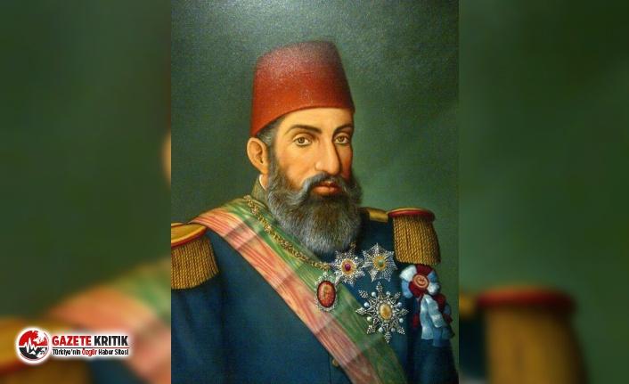 II. Abdülhamid'in tahtı 100 bin liraya satıldı