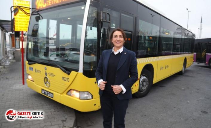 İstanbul Büyükşehir'de 9 kadın şöför...