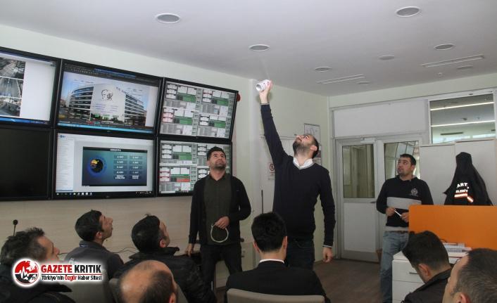 Kartal Belediyesi Güvenlik Çalışanlarına Yangın ve Otomasyon Sistemleri Eğitimi