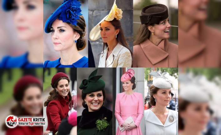 Kate Middleton'ın stil kodları!