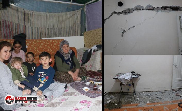 Manisa 5.2 büyüklüğündeki deprem tedirgin etti, vatandaş, geceyi çadırda geçirdi