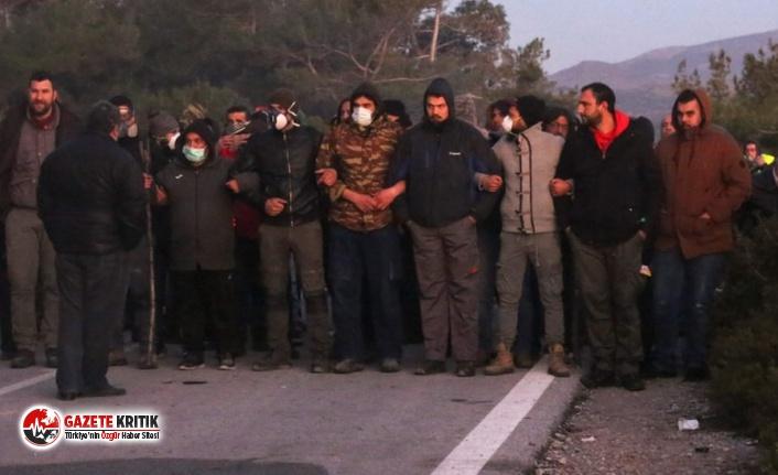 Midilli ve Sakız'da yeni mülteci kamplarına...