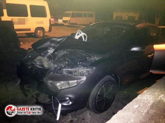 Muğla'da feci ölüm! Arabanın ön camından içeri girdi