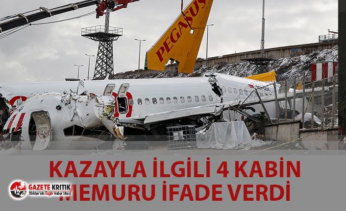 PEGASUS UÇAK KAZASI İLE İLGİLİ 4 KABİN MEMURU...