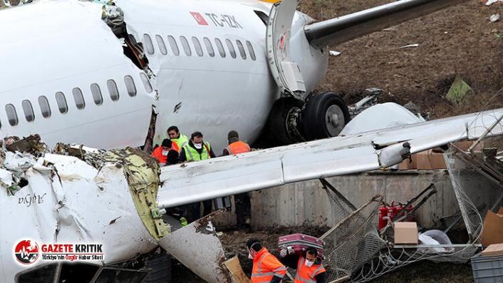 Sabiha Gökçen'deki uçak kazası: Kaptan pilotun...