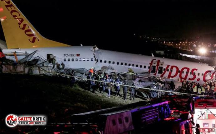 Sabiha Gökçen'deki uçak kazası nedeniyle ödenecek...