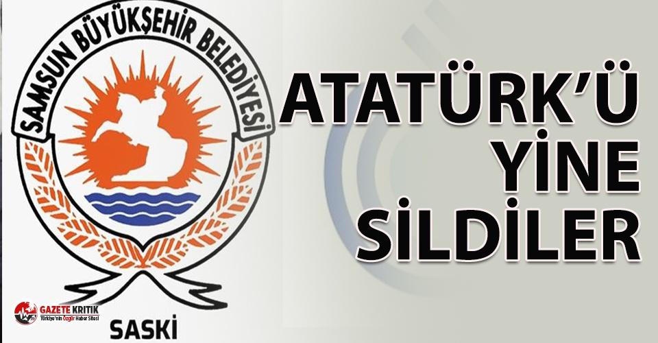 Samsun Su ve Kanalizasyon İdaresi 27 yıllık logosunu değiştirdi, Atatürk'ü kaldırdı