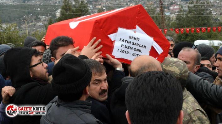 Şehit Uzman Onbaşı Fatih Saylak son yolculuğuna uğurlandı