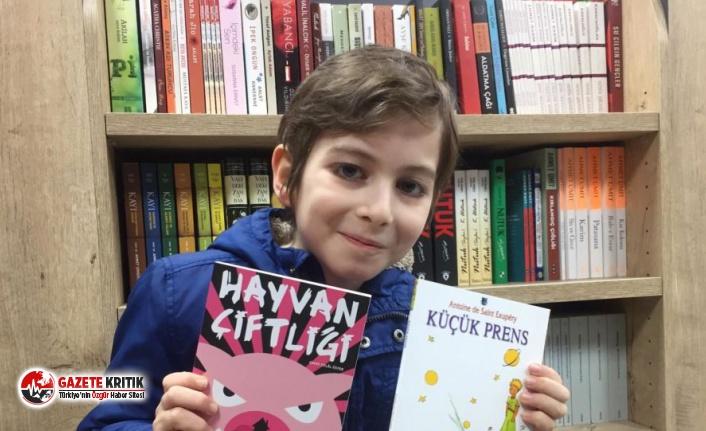 Sosyal medyaya damga vuran 10 yaşındaki Atakan: Önce felsefe, sonra tarih öğretilmeli