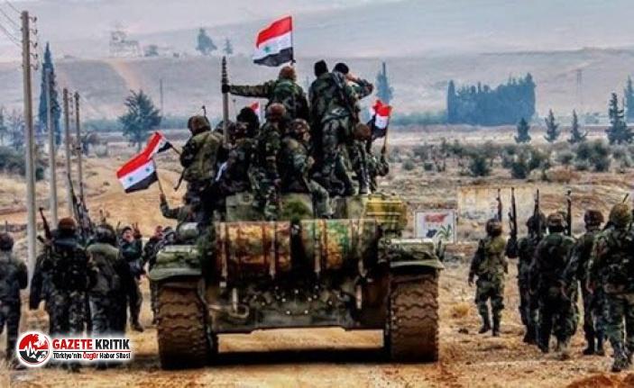 Suriye ordusu, İdlib ve Halep kırsalında büyük...