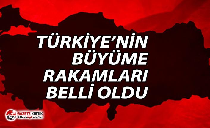 Türkiye beklentilerin üzerinde büyüdü!