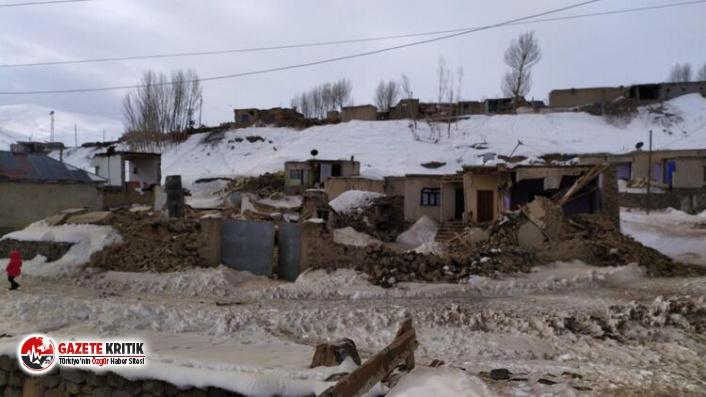 Van'da deprem... 7 ölü enkaz altında kalanlar...
