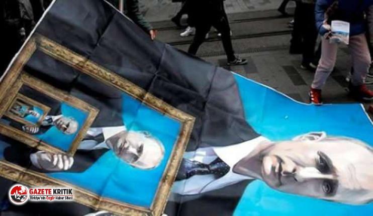 Yer: İstanbul... Putin posteri kriz çıkardı