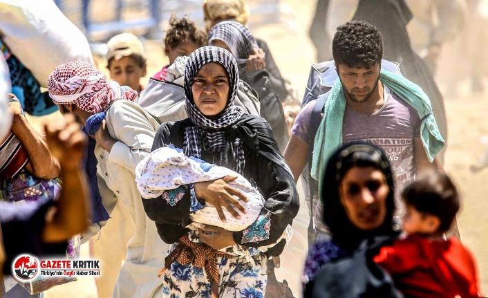 Yüz binlerce Suriyeli Türkiye sınırına kaçıyor