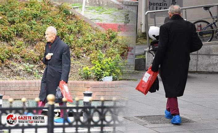93 yaşındaki ünlü sanatçı sokağa çıkma yasağını ihlal etti