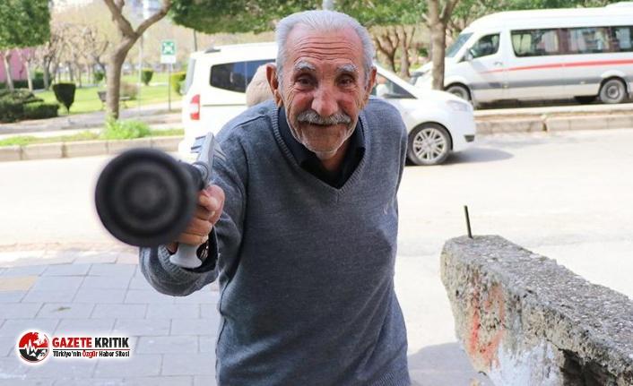 78 yaşındaki adam böyle direndi: Corona virüsünü...