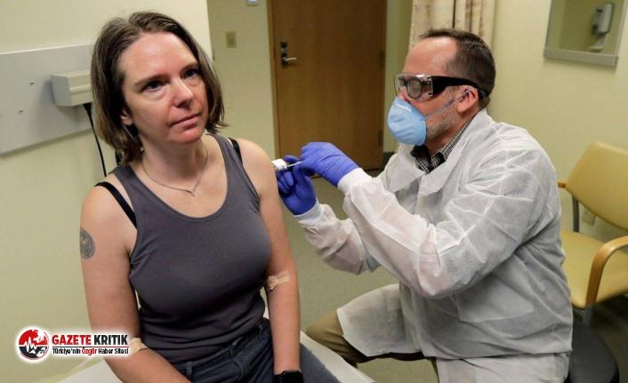 ABD'de koronavirüs tedavisi gören bir kadına...