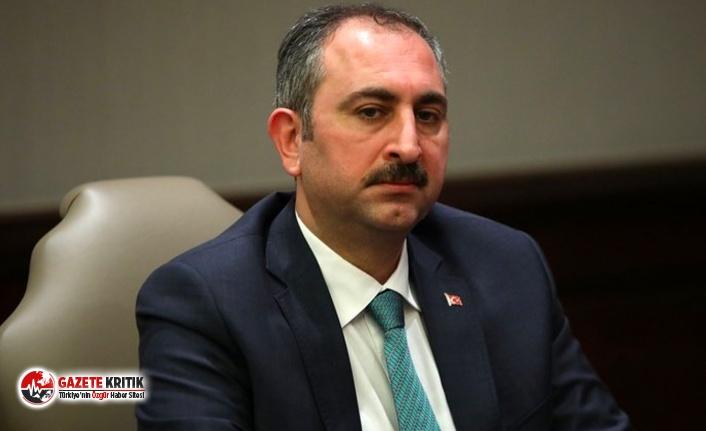Adalet Bakanı: İnfaz düzenlemesi çok gecikmeden...