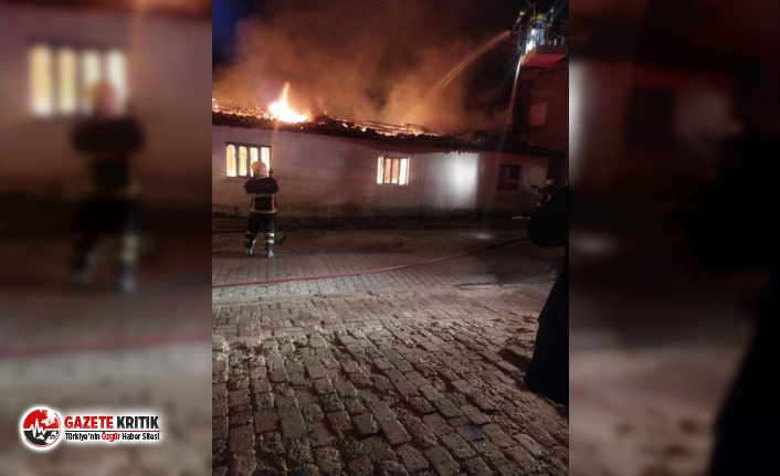 Aydın'da evini ateşe verdi, yanında uyudu