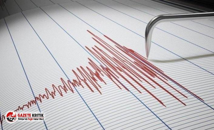 Balıkesir'de deprem! 3.8 büyüklüğünde deprem...