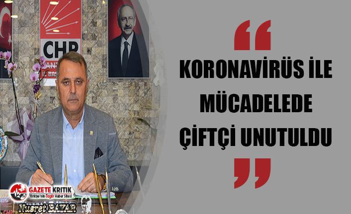 """BAŞKAN BAYAR: """"AKP İKTİDARI ÇİFTÇİYE ÜVEY EVLAT MUAMELESİ YAPIYOR"""""""