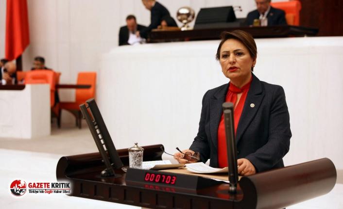 """CHP'li Müzeyyen Şevkin; """"Kanal'ı bırak, test yap!"""""""