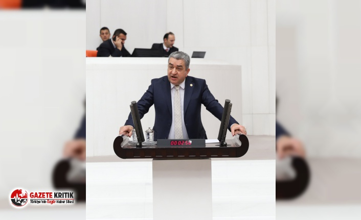 """CHP'li Serter, Bakan Turhan ve Pekcan'a: """"Ya..."""
