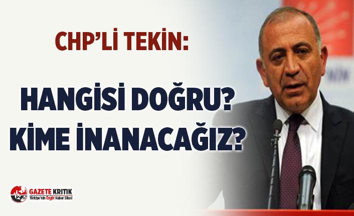 CHP'li Tekin: ''Erdoğan ile Sağlık...