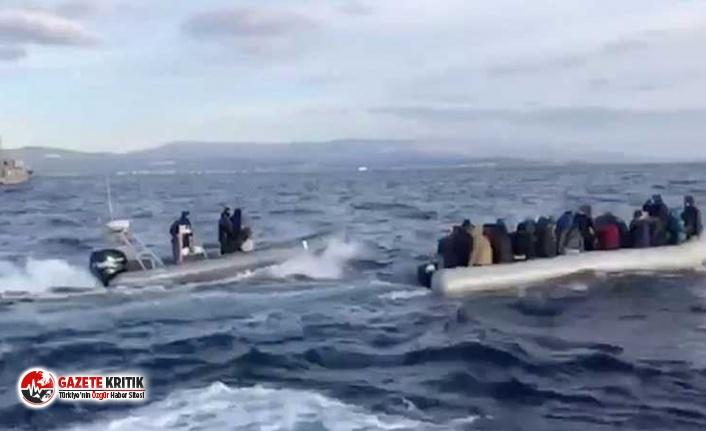 Ege'de 24 saatte 500'e yakın göçmen kurtarıldı