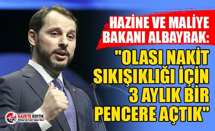 """Hazine ve Maliye Bakanı Berat Albayrak: """"Olası..."""