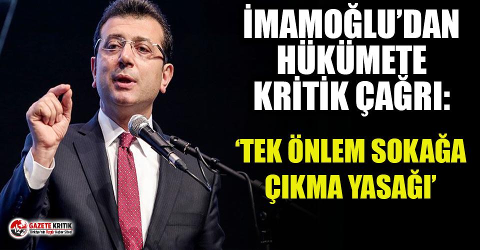 İmamoğlu'ndan hükümete kritik çağrı: İstanbul'da...