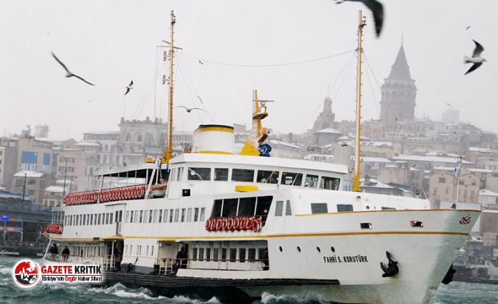 İstanbul'da feribot ve deniz otobüsü seferleri...