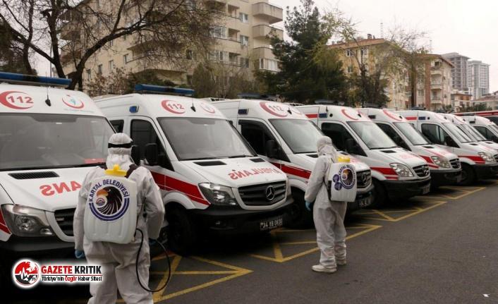 Kartal'da Ambulanslar ve Oto Sanayi Siteleri...